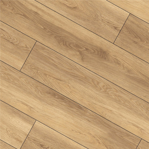 Hanflor 6.41''*47'' 6.5mm WPC Plank Eco Flooring Wood Plastic Composite Decking HDF 9113
