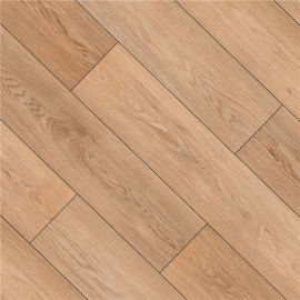 Hanflor 9''x48'' 4.2mm Beige Oak Rigid SPC Flooring Vinyl Plank HDF 9124