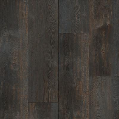 Hanflor 9''x72'' 5.0mm Dark Oak Rigid Wood Effect Vinyl Plank Flooring HDF 9126