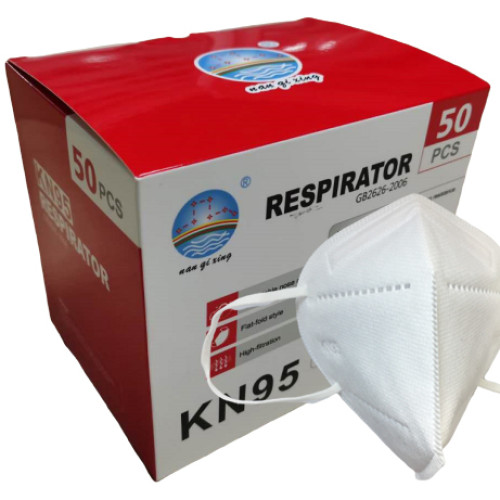 COVID -19 3D Protective Mask Disposable Respirator 5 Layers Face Mask Non-Medical FDA CE White List KN95
