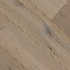 Hanflor 9''x48'' 4.2mm Beige Oak Vinyl Plank Flooring HDF 9128