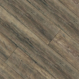Hanflor 6''x36'' 4.0mm Dark Oak 100% Waterproof Vinyl Plank Solid Core SPC Flooring HDF 9130