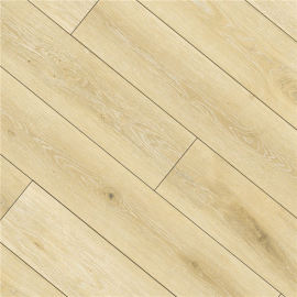 Hanflor 7''x48'' 5.5mm Light Beige Oak SPC Vinyl Plank HDF 9133