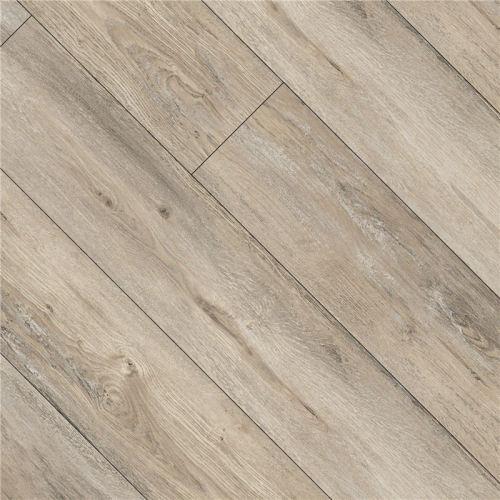 Hanflor 9''x48'' 4.0mm Brown Oak Click Non Slip Wood Effect Vinyl Plank HIF 9136