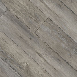 Hanflor 9''x48'' 4.0mm Gray Oak Click Vinyl Plank Flooring Wholesale HIF 9137