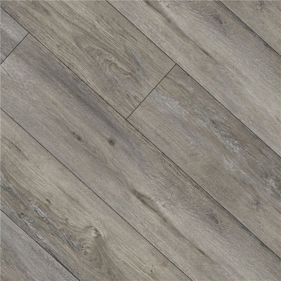 Hanflor 9''x48'' 4.0mm Gray Oak Click Vinyl Plank Flooring Wholesale HIF 9137