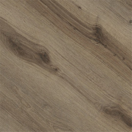 Hanflor 7''x48'' Brown Oak Glue Down Vinyl Plank HIF 9138