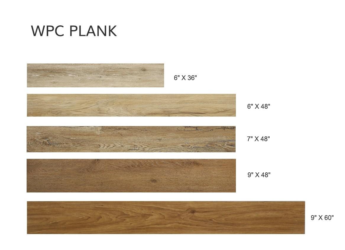WPC Flooring Size