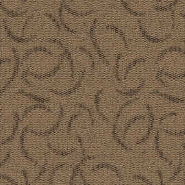 "Hanflor 12""X24""4.0mm Brown Carpet Look LVT Vinyl Tile HTS 8057"