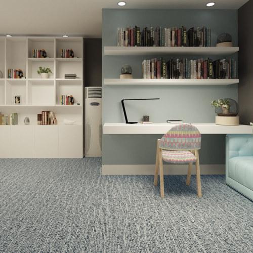 "Hanflor 12""X24""4.0mm Anti-Static Carpet Look LVT Vinyl Tile HTS 8032"