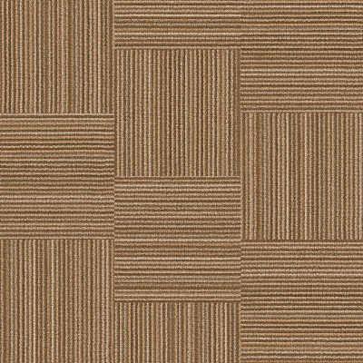 Hanflor 12''*36'' 5.0mm Beige Quick Installation Carpet Look LVT Vinyl Tile HTS 8036