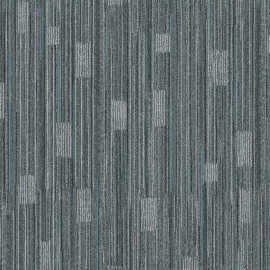 Hanflor 12''*36'' 5.0mm Blue Carpet Look Click Luxury Vinyl Tile HTS 8045