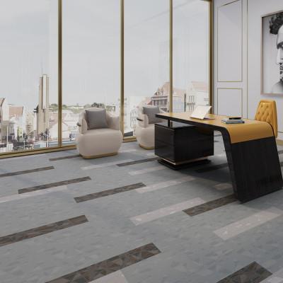 Hanflor 12''*36'' 5.0mm Carpet Look LVT Vinyl Tile HTS 8049
