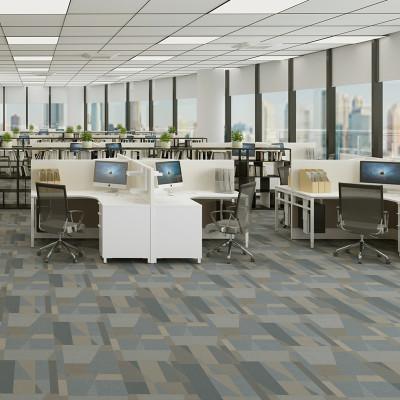Hanflor 12''*36'' 5.0mm Carpet Look LVT Vinyl Tile HTS 8050