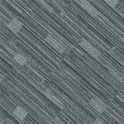 Hanflor 12''*36'' 5.0mm Blue Carpet Look Click Luxury Vinyl Tile HTS 8045