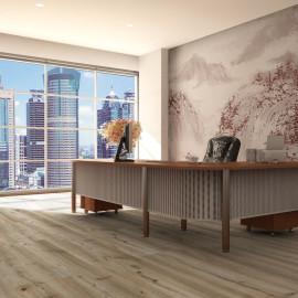Hanflor 9''x48'' 4.2mm SPC Vinyl Plank Flooring For Commercial Office Use HIF 20458