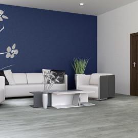 Hanflor 7.2''x48'' 4.0mm/0.3mm 1.5mm IXPE Gray SPC Flooring Vinyl Plank Best Sellers 100MOQ RTS 20802