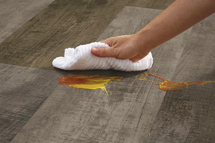 easy clean flooring