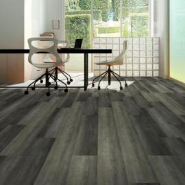 Hanflor 7.2''x48'' 4.0mm/0.3mm 1.5mm IXPE Gray SPC Flooring Vinyl Plank Best Sellers 100MOQ RTS 20804
