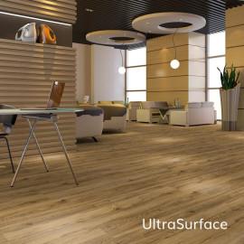 UltraSurface 7.2''x48'' 4.0mm/0.3mm 1.5mm IXPE Beige SPC Flooring Vinyl Plank  HIF 20461