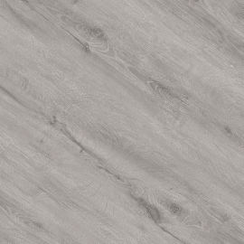 Hanflor 7''x48'' Classic Gray Oak Glue Down Vinyl Plank PVC Flooring HIF 20471
