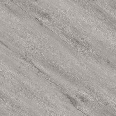 Hanflor 7''x48'' Classic Gray Oak Glue Down Vinyl Plank PVC Flooring HIF 20471