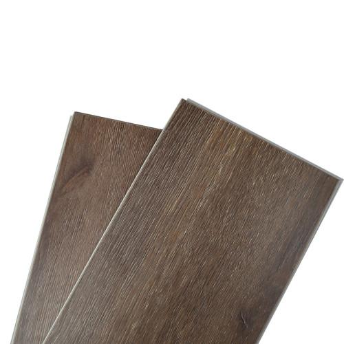 Hanflor 7''x48'' 5.5mm Melamine SPC flooring Super Anti-Scratch Rigid Core SPC Vinyl Plank
