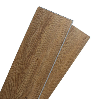 Hanflor 9''x48'' 4.0mm Brown Click Vinyl Plank Low maintenance Easy Click Interlocking luxury Vinyl Flooring