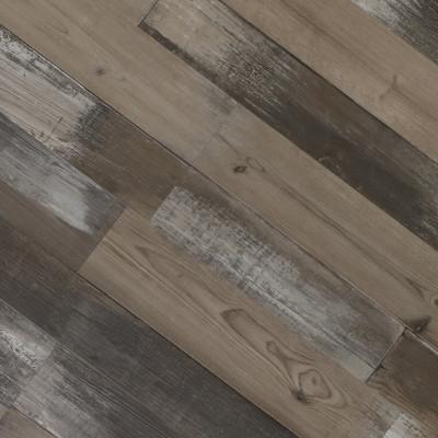 Rigid Core Vinyl Flooring ▏ 7''x48'' 5.0mm Vintage Style ▏Hanflor SPC Plastic Floor Covering HIF 9051