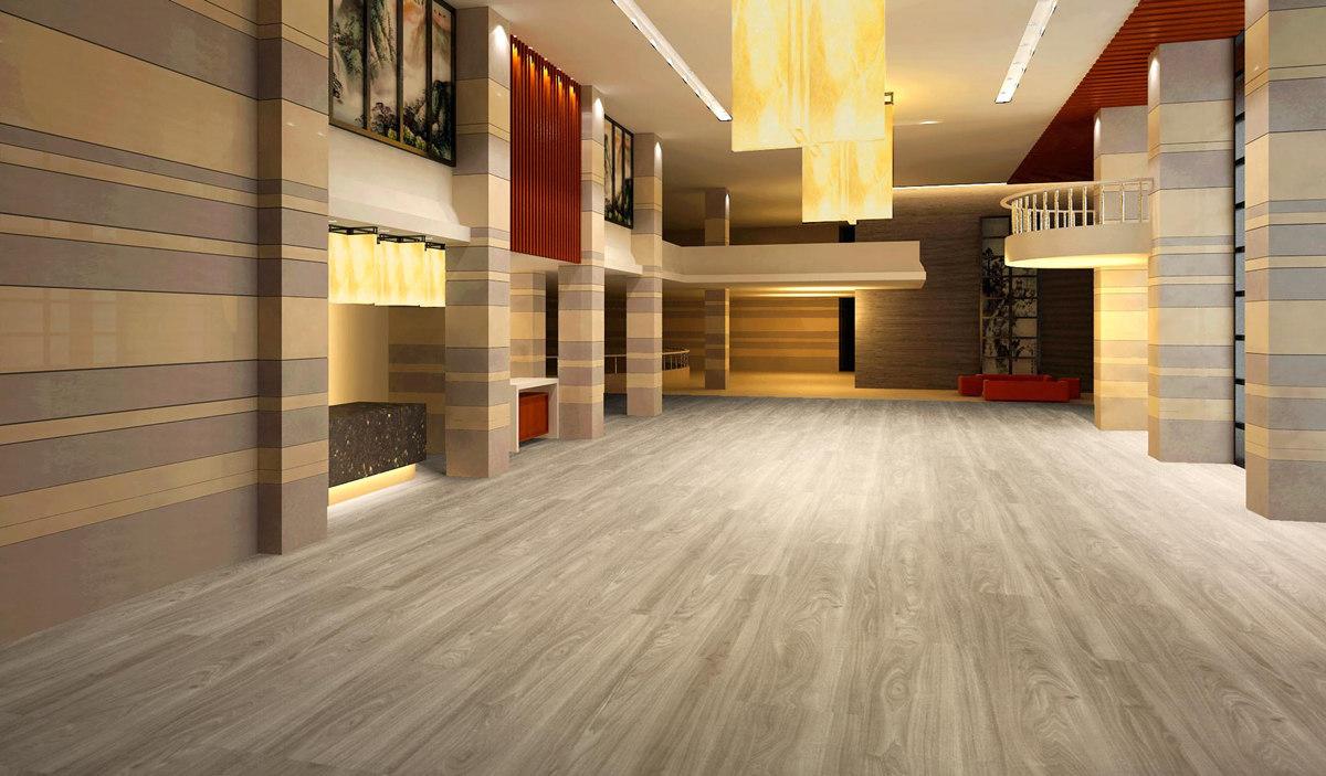 lvt glue flooring