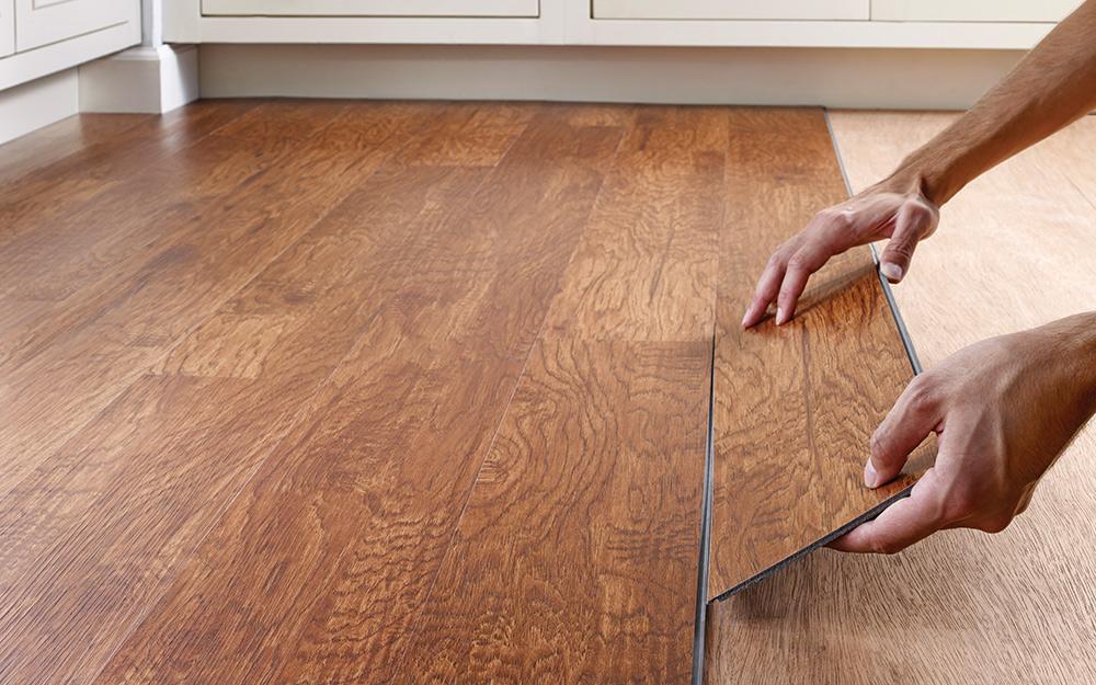 Install Vinyl flooring