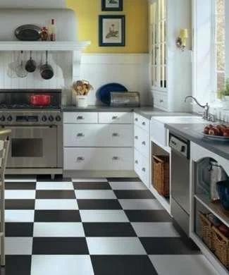 最好的厨房地板