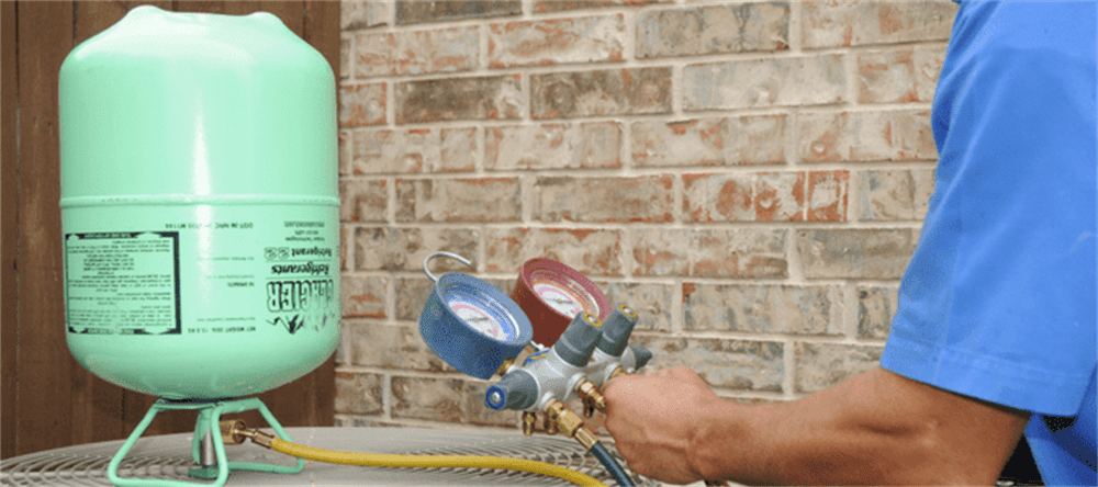 the principles and steps for handling refrigerant leakage