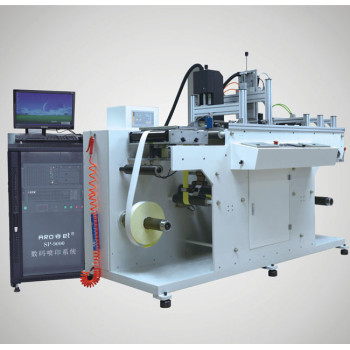 roll-to-roll printing UV variable data printing system