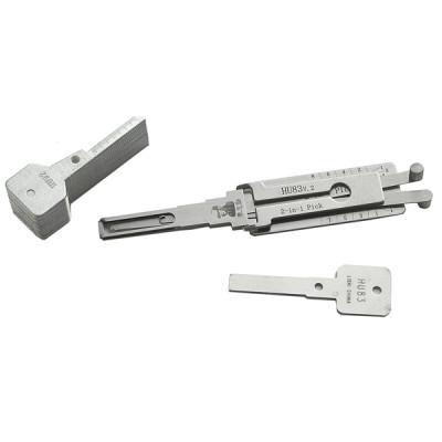100% original LISHI 2 in 1 Auto Pick and Decoder hu83 For Peugeot 307 Lock Plug Reader lishi lock pick tools