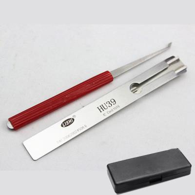 100% original lishi lock pick Hu39 for Benz 4 Track locksmith tools lock pick tools made in china