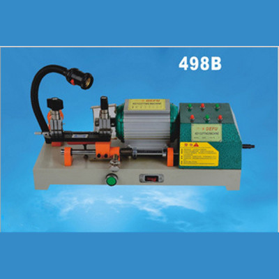 100% original Defu key cutting machine locksmith tools 498B 220v 180w Horizontal Electric & manual key cutting duplicated machine
