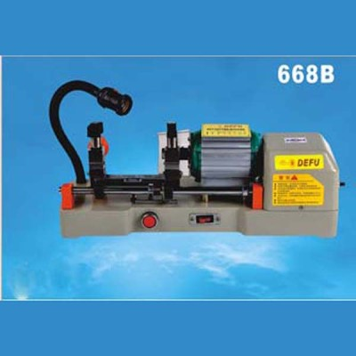 100% original Defu key cutting machine locksmith tools 668B 220v 120w Horizontal key cutting duplicated machine