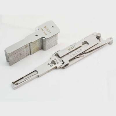 100% original LISHI 2 in 1 Auto Pick and Decoder WT47T Lock Plug Reader lishi lock pick tools