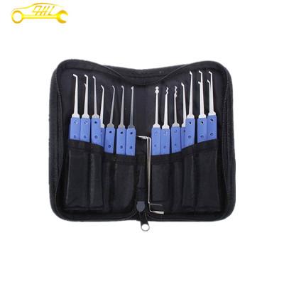 Blue 28+3 Stainless Steel Lock Pick Set ,JSSY locksmith tools lock picks ,lock picks tools hot sale