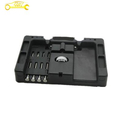 huk Filp Key Vice 4Pcs Locksmith tools Lock Picks Cars Remote Control flip Key Repairing Tools kits With Fetch Case