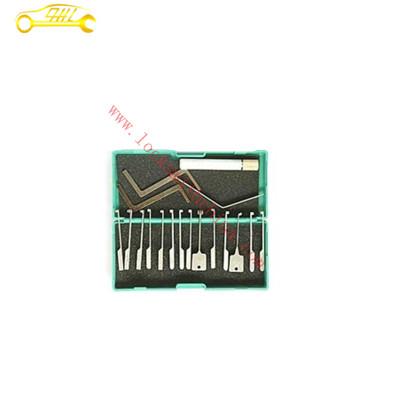 Silver super kaba dimple lock pick hooks pick set , goso lock picks cars free shipping opener locksmith tools