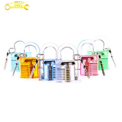 professional practice padlock large colorful transparent padlock in sale