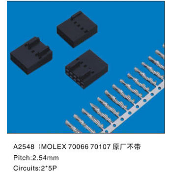 Molex 70066 70107 Socket Wire To Board Connectors 2.54MM Spacing for Motherboard