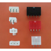Mini Fit Wire To Board Connectors With Snap In Plastic Peg PCB Lock 3 4 5 Circuits