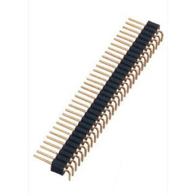 Replace Samtech Round Male Pin Header 1.27MM Pitch Connector DIP SMD