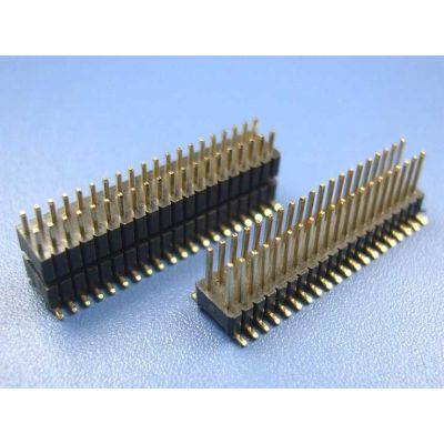 1.27MM Straight Angle SMT 60 Pin Header Connector For  Industrial lighting