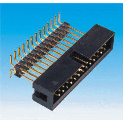 2.0MM Black Box Header Dual Rows 40Pins Male Female For Telecommunication