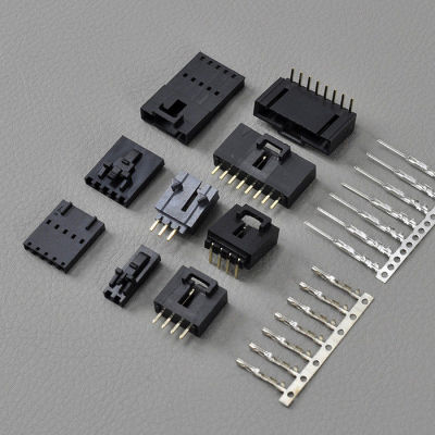 12 Pin Vehicle AWG 22 ~ 26 Wire To Board Connectors With Latch / Molex Sl Connectors to Sound systems