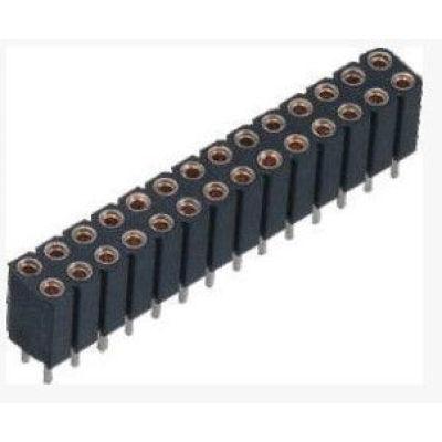 Round Female Pin Header Connector Alternate Molex For PCB Rack-mount server
